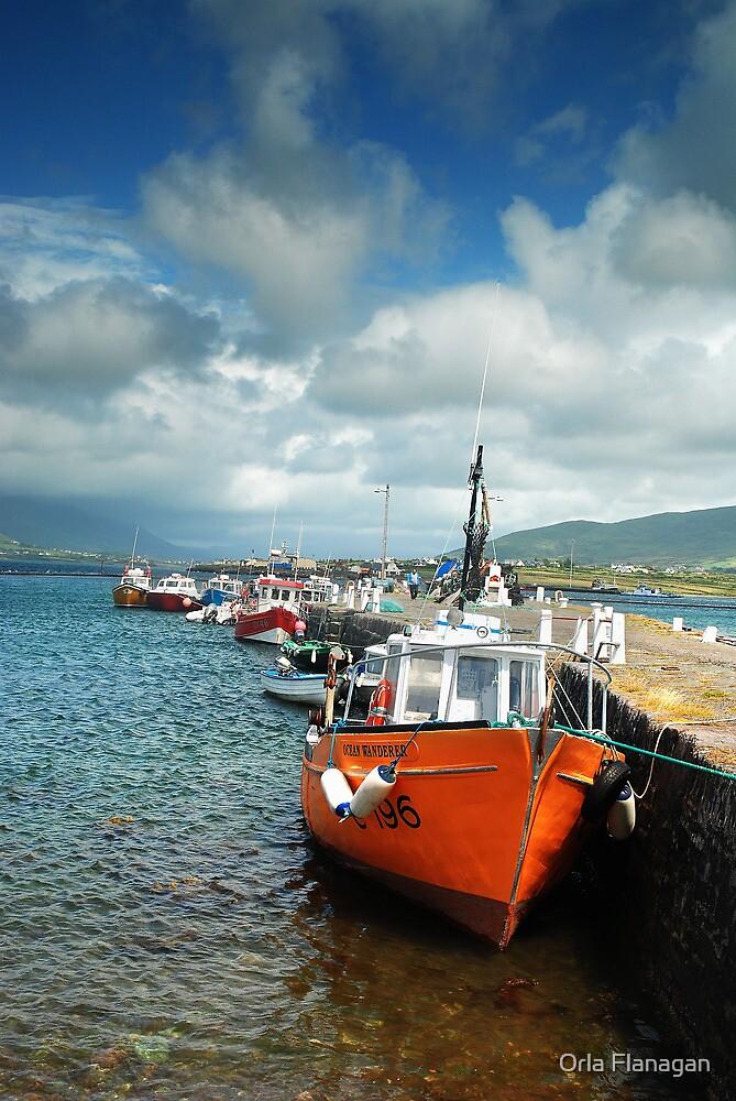 Valentia Boats by Orla Flanagan
