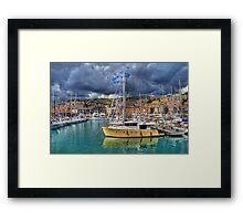 Genoa Old Port Framed Print