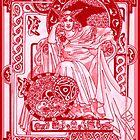Celtic Corbie RedQueen by redqueenself