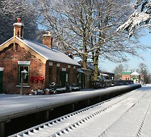 Holt Station, Norfolk by Beverley Barrett