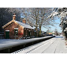Holt Station, Norfolk Photographic Print