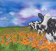 """""""Fragrant Friesians"""" by Jules Summers"""
