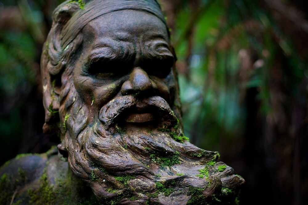 William Ricketts - Elders Bust by Daniel Berends