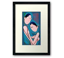 Romantic couples Framed Print