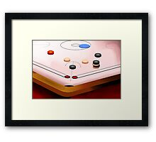 Amusing carom game	 Framed Print