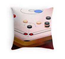 Amusing carom game Throw Pillow
