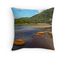 Tidal River,Wilsons Prom Throw Pillow