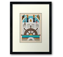 Queen of the Riverboats Framed Print