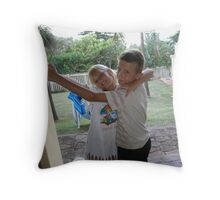 love your brother Throw Pillow