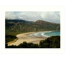 Norman Beach,Wilsons Prom Art Print