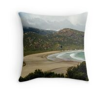 Norman Beach,Wilsons Prom Throw Pillow