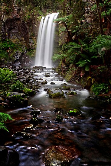 Hopetoun Falls - Otways National Park, Australia   by peterperfect