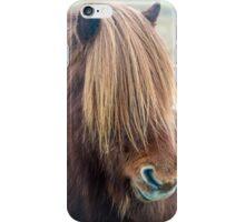 Icelandic Horse with Long Mane iPhone Case/Skin