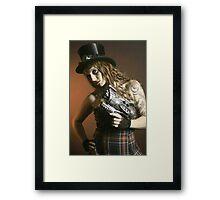 Steampunk XII Framed Print