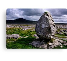 Ingleborough from Twisleton Scar - The Yorkshire Dales Canvas Print