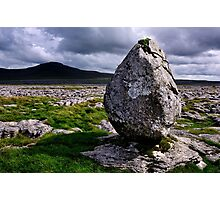 Ingleborough from Twisleton Scar - The Yorkshire Dales Photographic Print