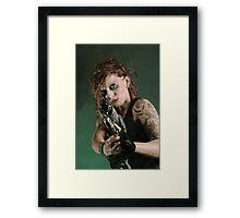 Steampunk XIX Framed Print