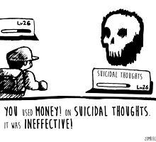 Money Is Ineffective by zombieCraig