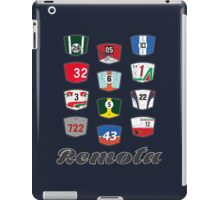 Remota - Legends of Motorsport guessing game t-shirt iPad Case/Skin
