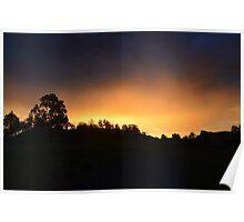 Rural Sunset 2 Poster