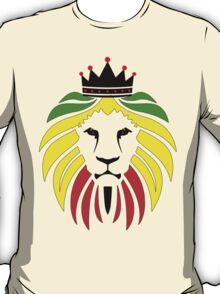 Rasta Lion. T-Shirt