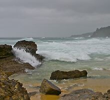 Stormy seas, Bermagui, NSW by johnrf