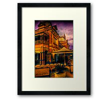 The flavour of history Framed Print