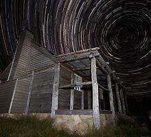 Star Trails, Craigs Hut. by ImagesbyDi
