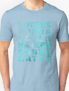 Lovers Gonna Love Typography T-Shirt