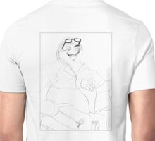 Portrait of the Artist as a Fat Nerd - by Annie Unisex T-Shirt