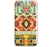 Decorative bright pattern in aztec style iPhone Case/Skin