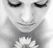 Flower with Thick Eyelashes  by Sienna van Rossum
