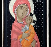Virgin Mary and the Child Jesus by Bogdan Solomenco
