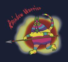 Rainbow Warrior Kids Tee