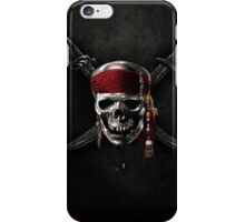 Pirate of the Caribbean Skull Jolly Roger iPhone Case/Skin