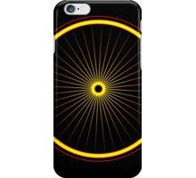 Bike spoke sun iPhone Case/Skin