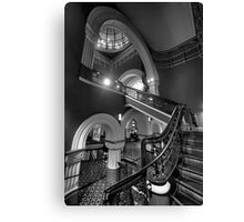 Staircase Addiction  #3 - QVB  Sydney - The HDR Experience Canvas Print