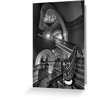 Staircase Addiction  #3 - QVB  Sydney - The HDR Experience Greeting Card