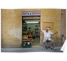 Italie - Toscane - Sienne (Sienna) Poster