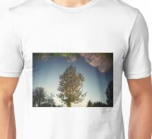 a tree reflection Unisex T-Shirt