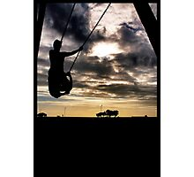 Swing time Photographic Print