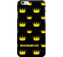BIGBANG Crown Pattern 2 iPhone Case/Skin
