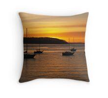 Sunrise at Batemans Bay. Throw Pillow