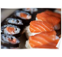 Plate of Sushi Poster