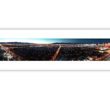 Vegas Sunset Panorama  Sticker