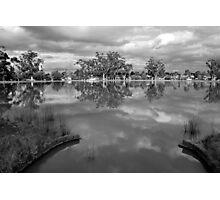 Sculpted Lake View at Neangar Photographic Print