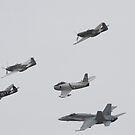 RAAF Fighter Formation by Daniel McIntosh