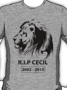R.I.P Cecil Lion T-Shirt