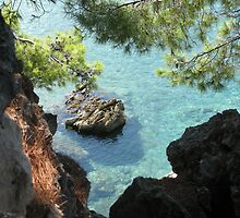 Beautiful Adriatic sea by Elena Skvortsova