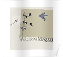 The Swallow and the  Other Birds  An Aesop's Fable Poster